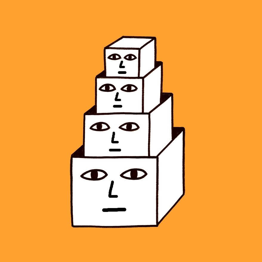 BOX HEADS (think too much)