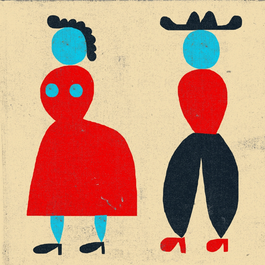man-woman-shapes